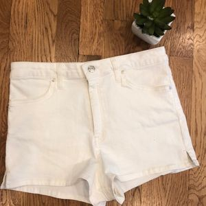 We The Free High Waisted Shorts Size 30